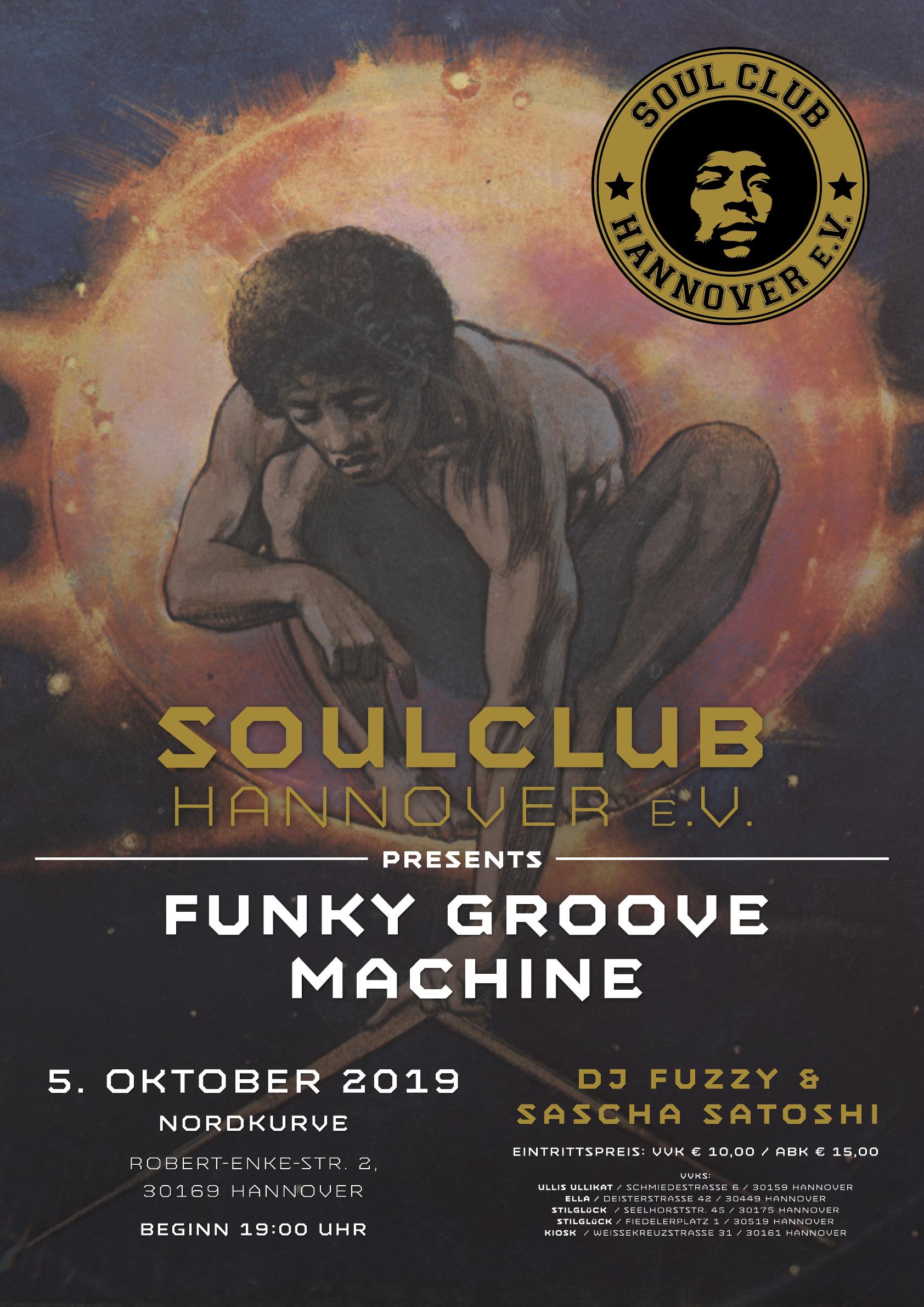 Funky Groove machine